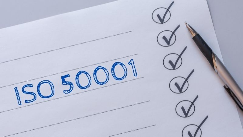 How to certify ISO 50001
