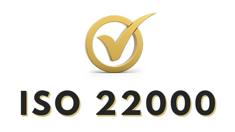 How to certify ISO 22000